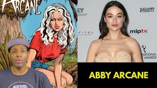 DC's Swamp Thing Casts Crystal Reed as Abby Arcane