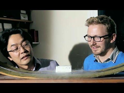 [Vídeo] Contempla la levitación magnética como nunca antes lo habías hecho