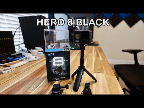 GoPro Hero 8 Black & Shorty Unboxing & Setup
