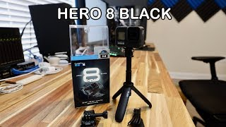 GoPro Hero 8 Black & Shorty Unboxing & Setup