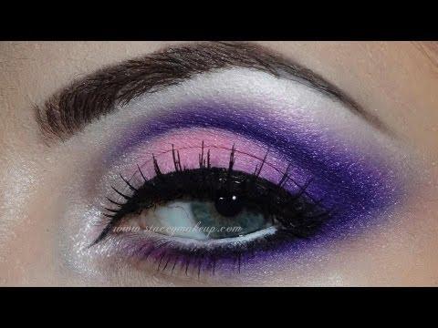 pink and purple makeup makeup atelier paris t09 youtube. Black Bedroom Furniture Sets. Home Design Ideas