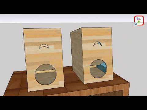 membuat box untuk speaker full bass design