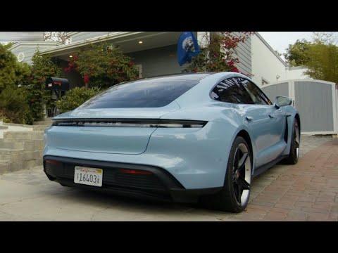 2020 Porsche Taycan 4S   Review by Raquel Tavares in LA