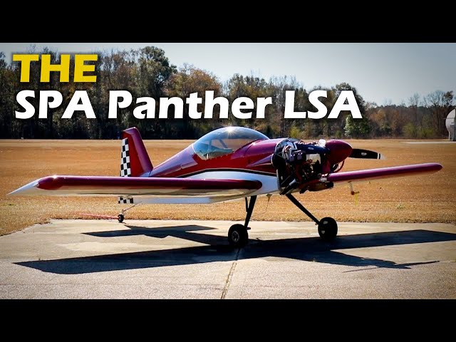 Sport Performance Aviation - PANTHER LSA - Greg Pixley Builder