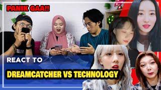 Download lagu REACT TO dreamcatcher vs technology // 드림캐쳐 vs 기술 💻
