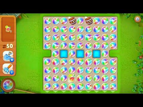 Playrix Gardenscapes | Rainbow Blasts