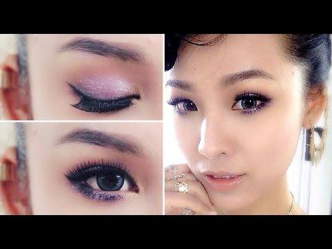 Makeup Party with Twinkle Glitter - Trang điểm dự tiệc với mắt nhũ ( QUÁCH ÁNH )