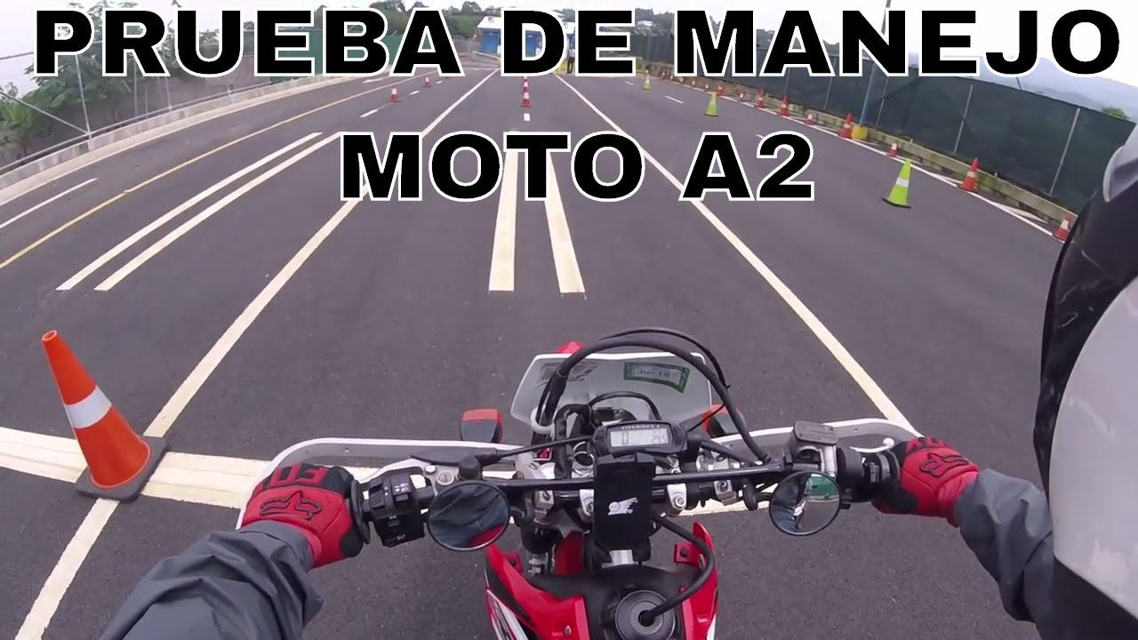 prueba de manejo moto licencia a a sede heredia costa rica
