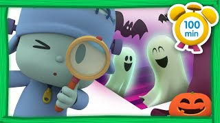💀 POCOYO in ENGLISH - The Halloween Mystery [100 min] Full Episodes | VIDEOS and CARTOONS for KIDS