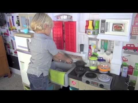 Kid Tested Step2 Modern Cook Kitchen Youtube