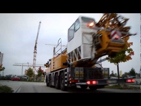 Liebherr - Mobile Construction Crane MK88