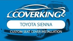 How to Install 2011-2019 Toyota Sienna Custom Seat Covers| COVERKING®