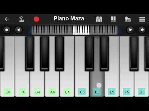 Enna Sona Arijit Singh Ok Jaanu  Mobile Piano Tutorial  Perfect Piano  2017  