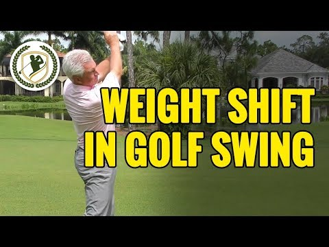 GOLF DRILLS – HOW TO SHIFT YOUR WEIGHT IN THE DOWNSWING