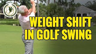Golf Drills - How To Shift Your Weight In The Downswing