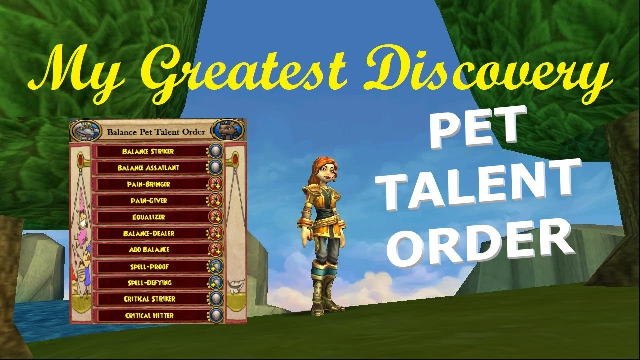 Wizard101 Triton Pet
