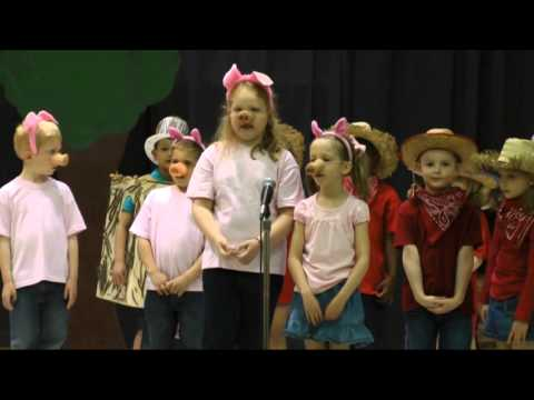 Rogers Elementary Kindergarten Production of the Piggy Opera 2013