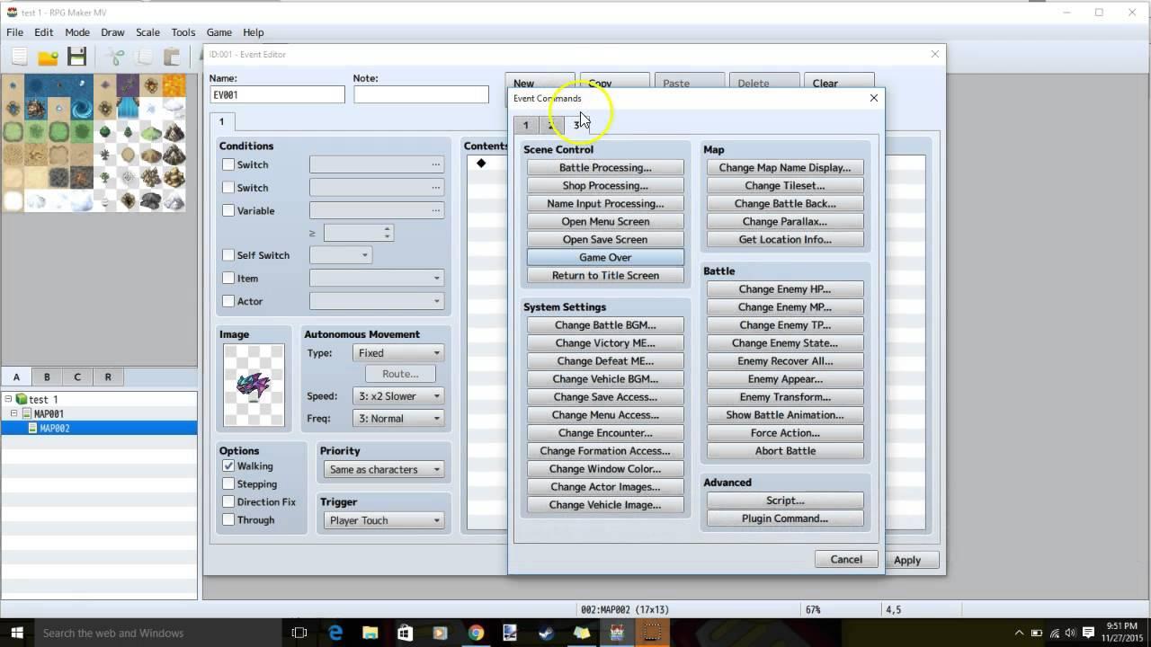 RPG Maker MV Tutorial -Getting Key Items After Enemy Battle-