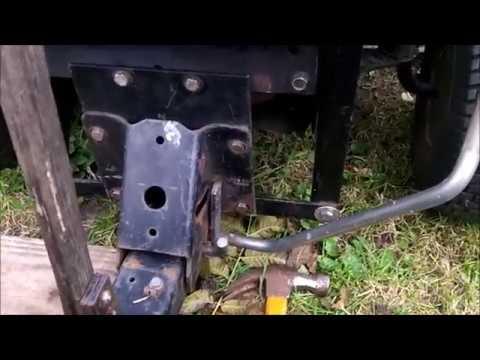97 Craftsman Tractor Installing A Craftsman Snow Plow  Video 4