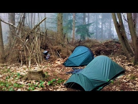 WILD CAMP IN AN ANCIENT WOODLAND | CLOWES WOOD KENT