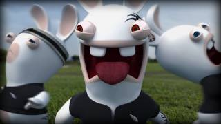 Rabbids: Alive & Kicking - Rugby World Cup 2012 Trailer (KINECT)
