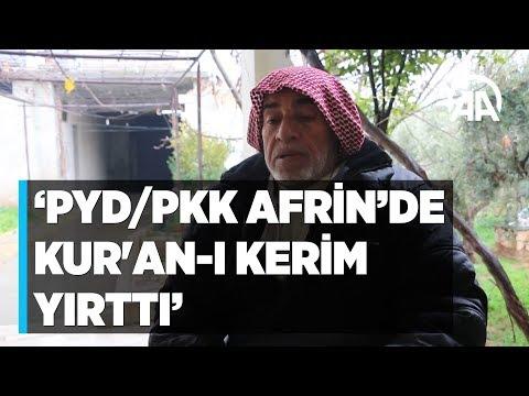 'PYDPKK Afrin'de Camileri Basıp Kur'an I Kerim Yırttı'