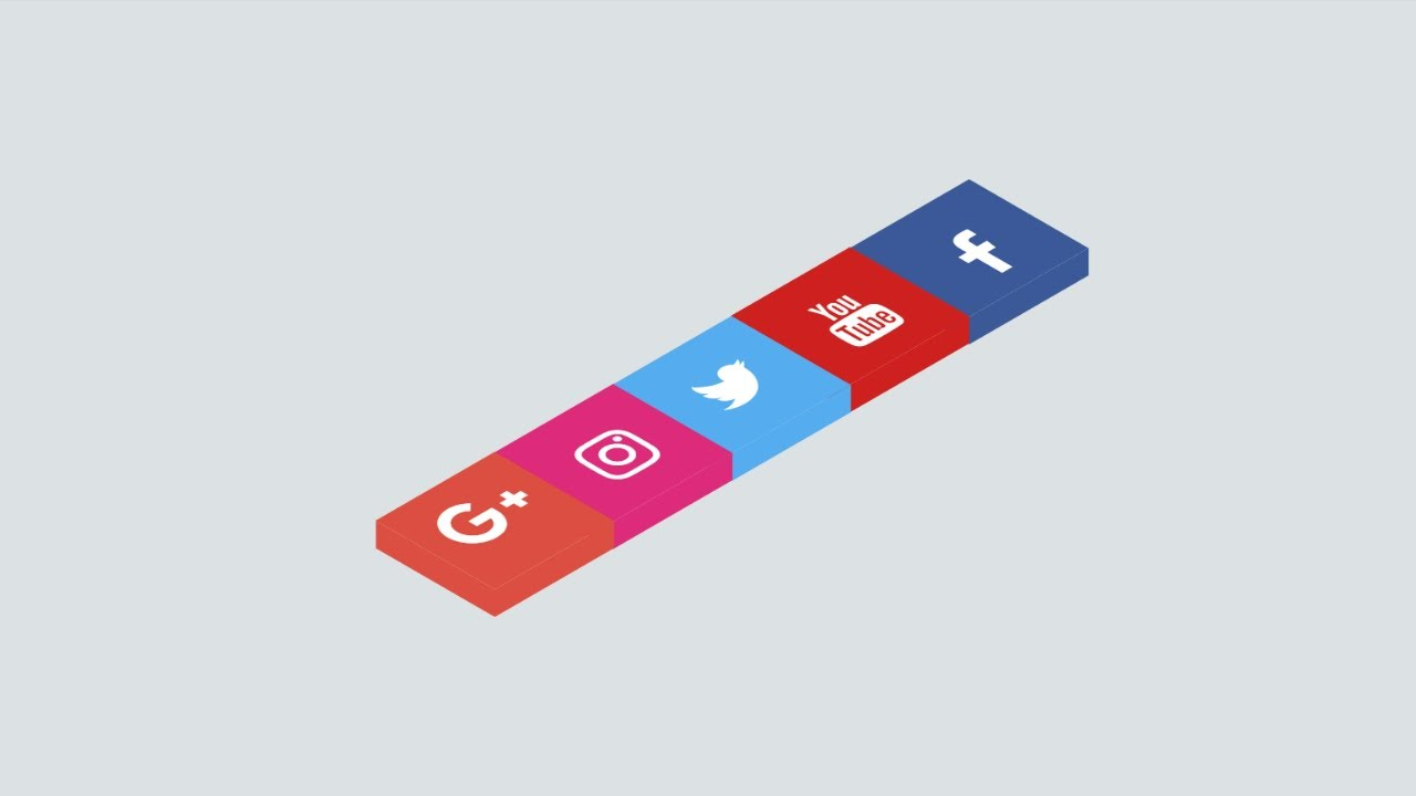 How To Make Social Media Animated Icons In HTML and CSS | HTML Tutorials