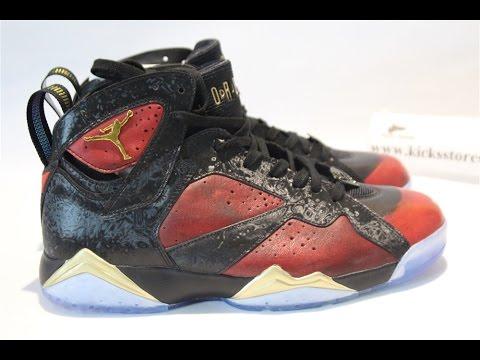 $46000 Air Jordan 7 Doernbecher Unboxing/ Detailed Review /Damien Phillips
