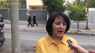 Наталья Сапарова - председатель Всеславянского союза Греции