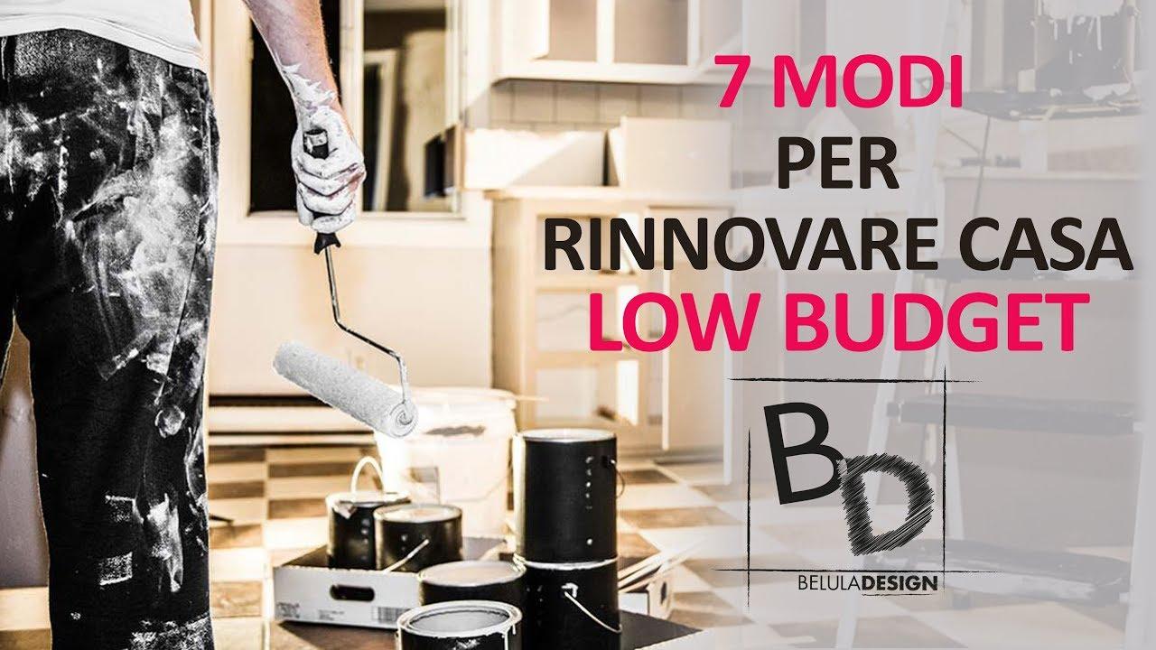 Rinnovare Pareti Di Casa 7 modi per rinnovare casa low budget | belula design