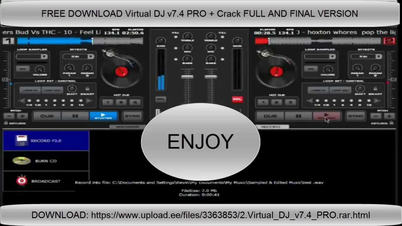 Features of Virtual DJ