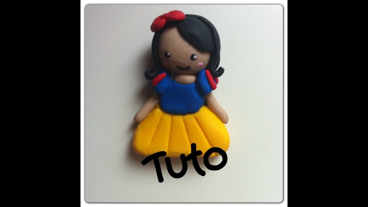 tuto n 7 chibi blanche neige fimo youtube. Black Bedroom Furniture Sets. Home Design Ideas