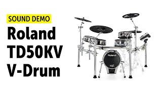Roland TD50KV V-Drum Sound Demo