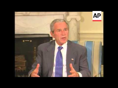 President Bush Meets With Israeli Prime Minister Ehud Olmert  Today In A Long-planned Session That I