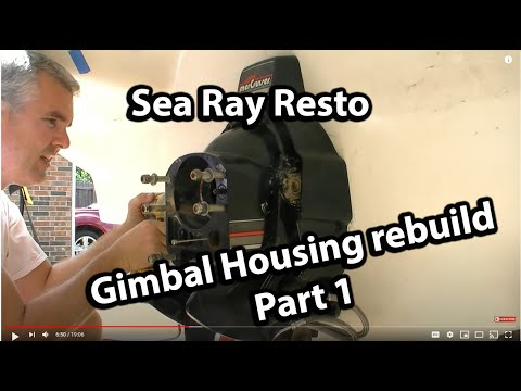 Rebuilding The Gimbal Housing And  The Bellows Replacement PART 1