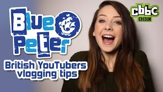 British YouTubers meet Blue Peter - CBBC
