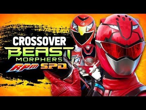 Power Rangers Beast Morphers RPM & SPD Crossover Episode? - Team-Up Ideas
