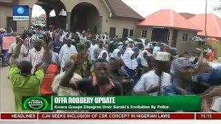 Kwara Groups Disagree Over Saraki's Invitation By Police  News Across Nigeria 
