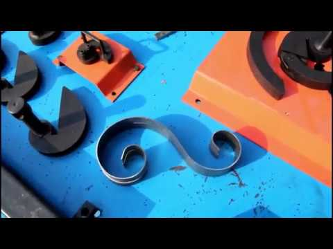 DH-SW Manual Metal Craft Scroll Bender Tool
