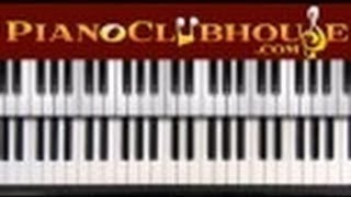 "♫ How to play ""ONE DROP"" by Plumb (piano tutorial lesson)"