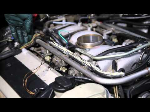 Mercedes M119 V8 Engine Inspection Part 4: Engine Wiring