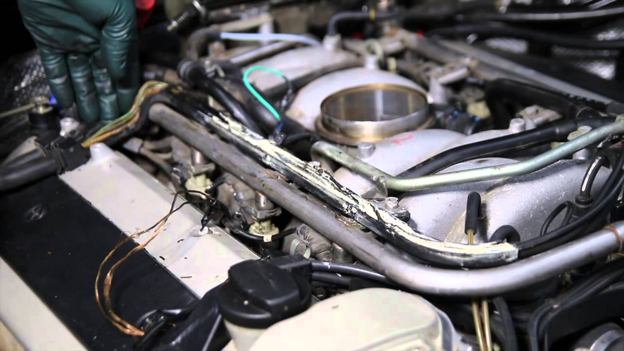 mercedes m119 v8 engine inspection part 4 engine wiring. Black Bedroom Furniture Sets. Home Design Ideas