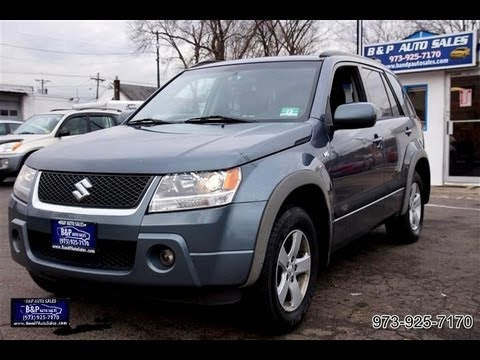 2006 suzuki grand vitara 4x4 youtube. Black Bedroom Furniture Sets. Home Design Ideas