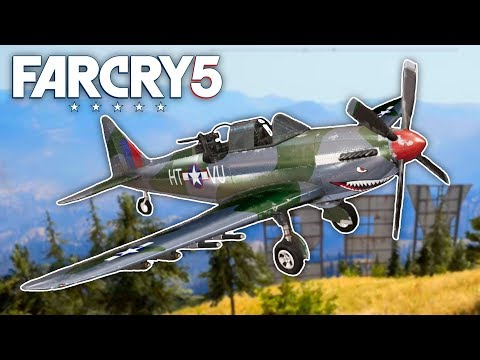 """Far Cry 5 - DESTROYING THE """"YES"""" SIGN IN A PLANE (Far Cry 5 Free Roam) #5"""