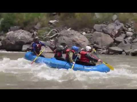 Whitewater Rafting Urubamba River