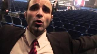Holger Böschen und Walandi Tsanti backstage: WWE Live in Stuttgart – 14. November 2015