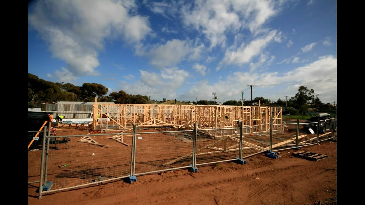 how to build a house house frame time lapse youtube