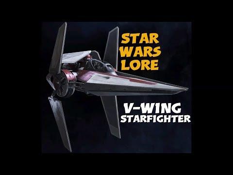 V-Wing / Star Wars Starfighter Lore  