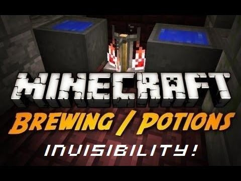 minecraft brewing potion of invisibility