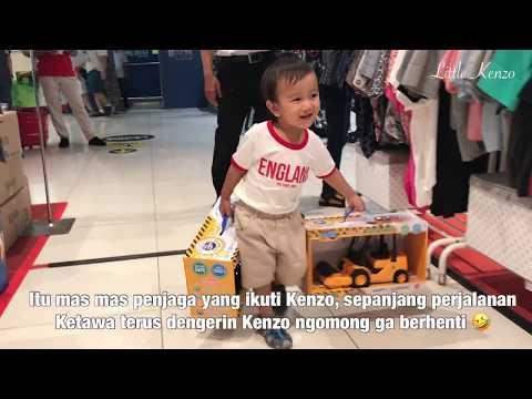 Video Iseng | Lucunya Kenzo Saat Di Toko Mainan Anak 😍 Gaya Bicara Anak Batita Bikin Gemes
